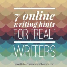 """The """"Real"""" Writer's Guide to Blogging & Online Writing - Online Empowerment FormulaOnline Empowerment Formula"""