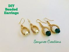 Herringbone Stitch 💞 - Beaded Netted Necklace Tutorial With Bicone – Kristal Kolye Yapımı Boncuktan bileklik yapımı, - Seed Bead Earrings, Beaded Earrings, Beaded Bracelets, Seed Beads, Necklace Tutorial, Earring Tutorial, Diy Schmuck, Schmuck Design, Bead Jewellery