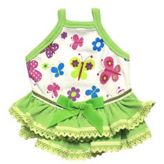 Guinea Pig Dress (Colorful Butterflies-A), $12.00