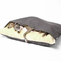 The Snuggle Bed: for your favorite cuddle bug. | 41 Insanely Clever Products Your Dog Deserves To Own