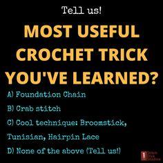 Hey crocheters! Your turn!