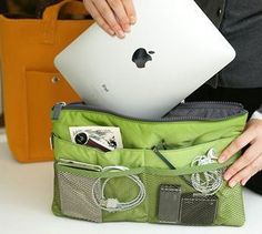 Fashion Bag Insert Organizer. Starting at $1 on Tophatter.com!