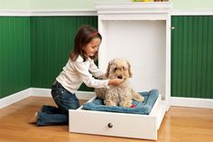 How to Build a Murphy Bed for Your Dog.