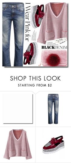 """""""Sweater in combo"""" by soks ❤ liked on Polyvore"""