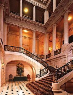 Chateau Carolands, Hillsborough, CA   Grand staircase, Carolands Chateau, Hillsborough, California - Parts ...