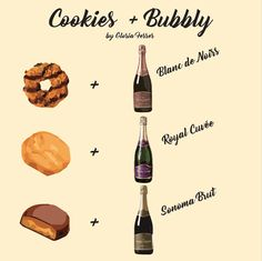 Looking for another excuse to drink sparkling wine? It's officially cookie season so it's time to break out the bubbly and celebrate with one of these glorious pairings!