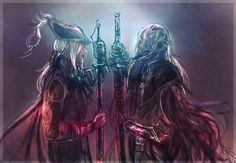 Lady Maria and the Bloody Crow of Cainhurst