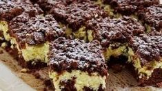 To jedno z najprostszych ciast, jakie zrobisz, a to twarogowe nadzienie jest ob. This is one of the simplest cakes you will make, and this cottage cheese filling is insane! Polish Desserts, Polish Recipes, Sweet Recipes, Cake Recipes, Dessert Recipes, Hungarian Desserts, Banana Pudding Recipes, Food Cakes, Food Humor