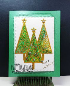 Happy Little Stampers July Christmas Challenge