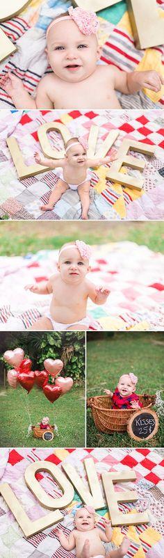 8 month baby photos - outdoor photography © Brandi Watford Photography LLC  www.brandiwatford.com