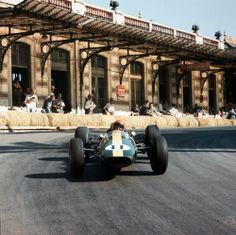 1964モナコGPでピーター·アランデル(チームロータス)