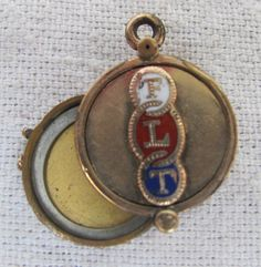Victorian locket aesthetic period scene by AntiqueJewelrySupply