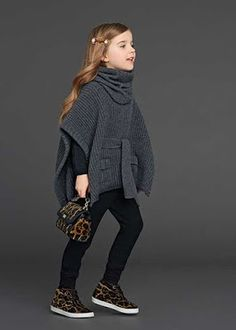 Binkelam'ın Kardeşi: Dolce Gabbana 2016 Kış Kız Çocuk Koleksiyonu