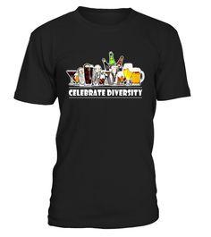 Celebrate Beer Diversity Funny T-Shirt