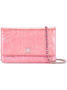 e39c3a9db6d4 Chanel Vintage CHANEL Camellia CC Chain shoulder bag Chanel Camellia