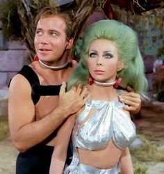 If there's a babe on the show, then Kirk's got his space paws all over them, #Me Too