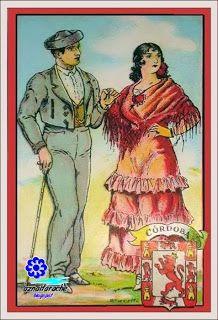 Trajes típicos de Andalucía Córdoba .Colección Amatller | aznalfarache