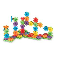 """Learning Resources Gears! Gears! Gears! Deluxe Building Set 100 Pieces - Primary Colors - Learning Resources - Toys """"R"""" Us"""