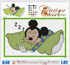 Mickey dormindo - Carina Cassol