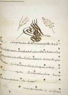 AN OTTOMAN FIRMAN Bir Osmanlı Fermanı