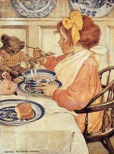❤ Vintage Art Poster Print! ☮~ღ~*~*✿⊱╮  レ o √ 乇 !! - Children by - Jessie Willcox Smith