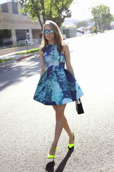 LA by Diana: The Perfect Skater Dress