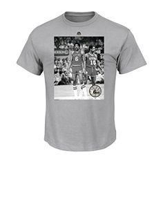 NBA Philadelphia 76ERS 197797 Mens Majestic Athletics Back and Forward Team  Short Sleeve Crew Neck TShirt cbe7af47f