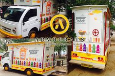 Complete body #fabrication and #branding by #AdvocratsCreations Pvt. Ltd. for more click here http://goo.gl/ZybHhe