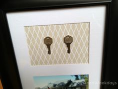 DIY Keepsake Art at BetweenWeekdays.com