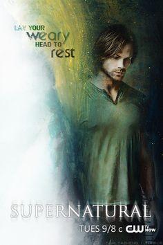 Demon Dean Season 10 ~ Supernatural Fan Art poster by Dahliasheng on Tumblr