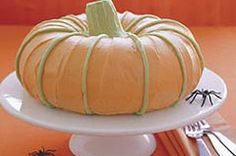 Great Pumpkin Cake- use a bundt pan