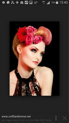 4be6afcc40 The Stylista  Pin Up Hair ~ Lindsey Jones