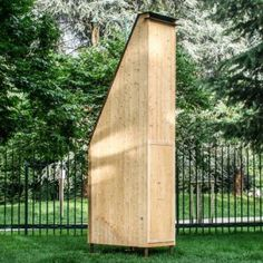 """Francesco Faccin creates """"micro architecture"""" for bees with Honey Factory"""