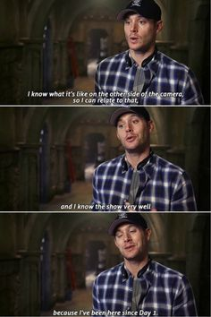 "Supernatural ""Bad Seed"" Jensen directing"