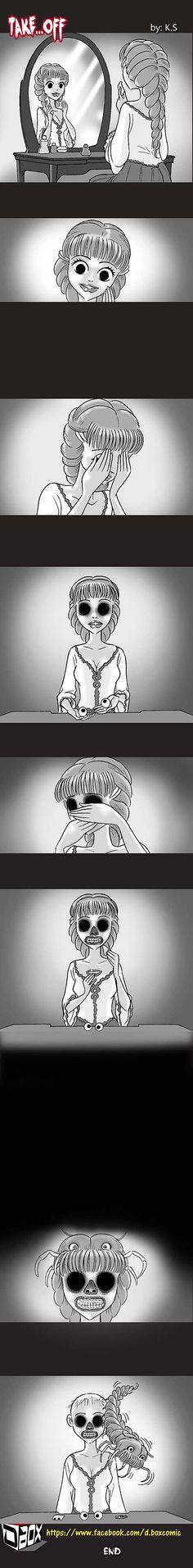 Silent Horror :: Take...Off   Tapastic Comics - image 1