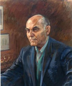 Sir Georg Solti. Acclaimed conductor of the Chicago Symphony Orchestra. Artist: June Mendoza