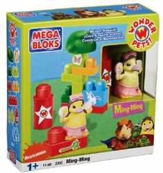 """Wonder Pets Ming Ming by Mega Brands America Inc. - Megabloks - Fife. $36.01. Great for role and adventure playing. Great for polishing fine motor skills and distinguishing colors and shapes. Stimulate creativity. Building blocks and accessory block. Perfect for first builders.. From the Manufacturer                """"Discover Ming Ming and encourage preschool kids to learn colors and shapes by building and role-playing with Wonder Pets! toys and special building blocks by Me... Wonder Pets, Disney Tees, Discount Uggs, Discount Dresses, Military Discounts, Learning Colors, Building Toys, Fine Motor Skills, Toy Chest"""