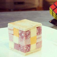 Sandwich Rubiks Cube