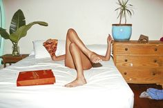 """Sex and Takeout"" – Photographer Sarah Bahbah Combines Naked People And Fast Food (10 Pictures)"