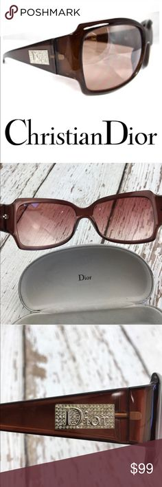 SALEChristian Dior Night 3 CB6 Tortoise Shell Fabulous Authentic Christian Dior Night 3 CB6 Tortoise Shell with case Great Condition Christian Dior Accessories Sunglasses