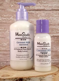 Coconut Milk Lotion  Pure Silk Unscented Face Cream Hand. Vegan and unscented Milk Lotion