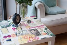 d-c-fix® self adhesive film Bellville looks gorgeous on this coffee table. The vinyl film is wipe clean so provides an ideal surface. http://www.amazon.co.uk/d-c-fix%C2%AE-Plastic-adhesive-Bellville-346-8101/dp/B00I3J0EHO/ref=sr_1_2?s=kitchen&ie=UTF8&qid=1433941329&sr=1-2&keywords=bellville