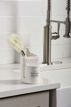 Ceramic Sink, Stoneware Mugs, Ceramic Utensil Holder, Kitchen Sponge, Sponge Holder, Small Furniture, Kitchen Sets, Mud Pie, Towel Set