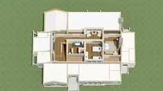 Exclusive Four Bed Farmhouse  - 130005LLS floor plan - 3D Second Floor