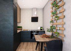 Kuchynsky kut v kompaktnom 2-izbovom byte v novostavbe Ceresne v bratislavskej Dubravke sme navrhli v kombinacii antracitovej, dubovej dyhy a mramoroveho obkladu. Design by @avedesign.sk ➡️ Studio interieroveho dizajnu v Bratislave #avedesign #interierovydizajn #bratislava #navrhinterieru #interier #kuchyna #kitchen #kitchendesign #interiorinspiration #interior4all #homedesign #instahome #instagood #instadaily #photooftheday #nofilter #interiorstyling #interior123 #interiorforinspo Kitchen Cabinets, Table, Furniture, Home Decor, Projects, Decoration Home, Room Decor, Cabinets, Tables