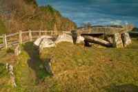 Arthur's Stone is a Neolithic burial chamber on a low hillside overlooking the River Dore and Herefordshire's Golden Valley. Historical Landmarks, Herefordshire, King Arthur, Prehistory, Mists, Britain, Needlework, England, River