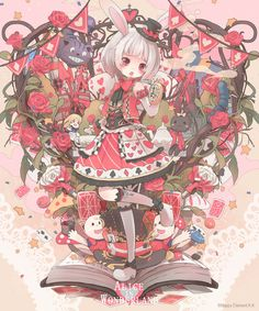 Tags: Alice in Wonderland, Cheshire Cat, Alice (Alice in Wonderland), Nanashina