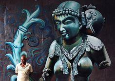 Murals In Bangalore, India-http://binscorner.com/pages/m/murals-in-bangalore-india.html