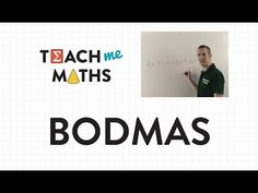 BODMAS (Order of Operations) - YouTube