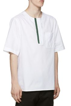 Public School White Mer T-Shirt from SSENSE (men, style, fashion, clothing, shopping, recommendations, stylish, menswear, male, streetstyle, inspo, outfit, fall, winter, spring, summer, personal)